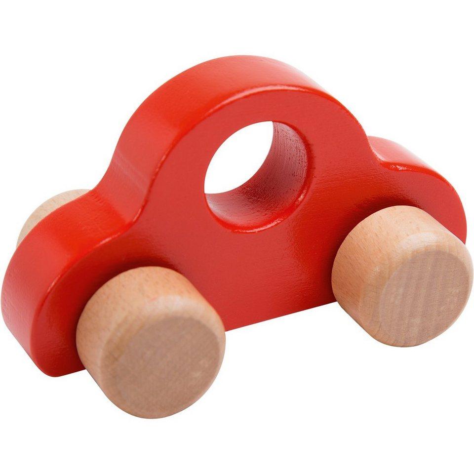Rotho Babydesign Holz-Greifauto in rot