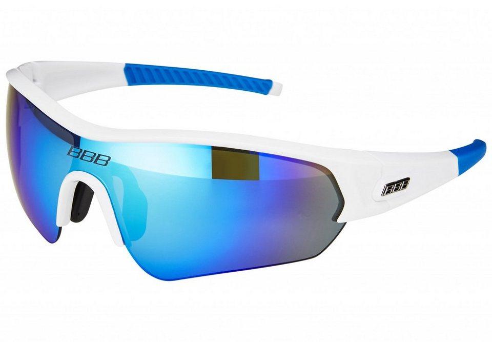 BBB Radsportbrille »Select BSG-43 Sonnenbrille« in weiß