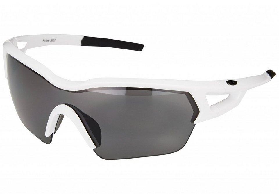 BBB Radsportbrille »Arriver BSG-36 Sonnenbrille weiß« in weiß