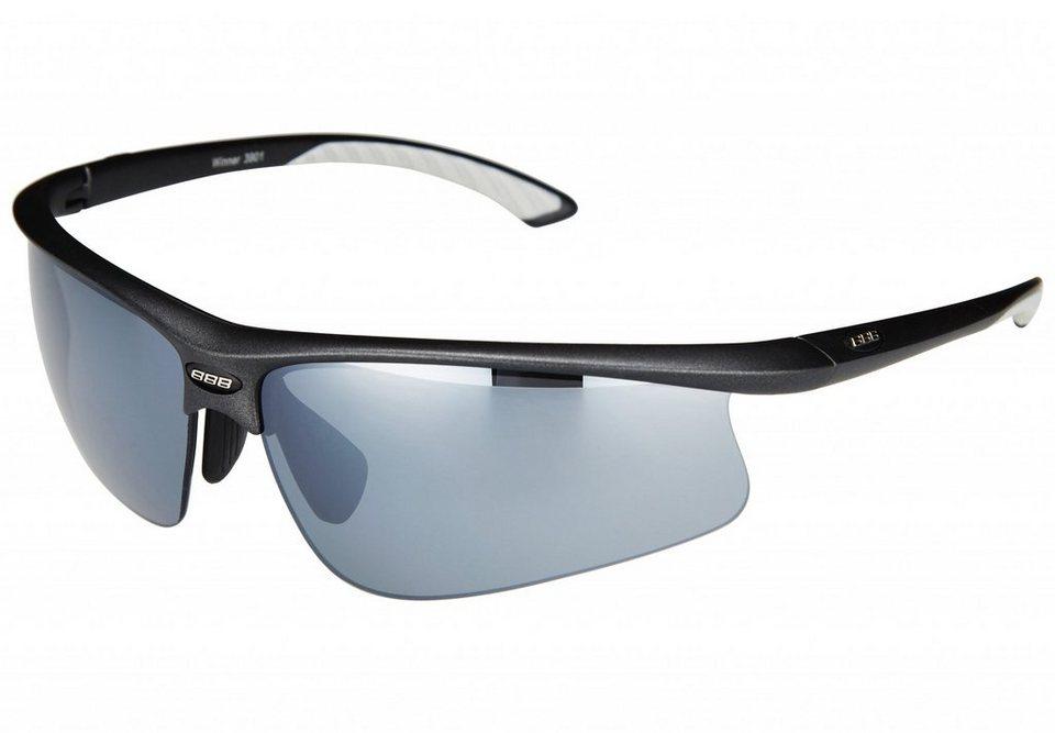 BBB Radsportbrille »Winner BSG-39 Sonnenbrille matt schwarz« in schwarz