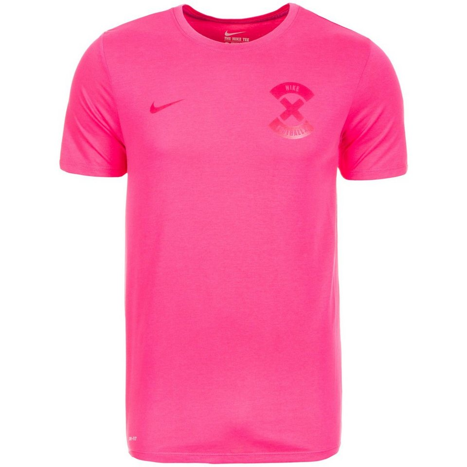 NIKE Football X Name And Number T-Shirt Herren in pink