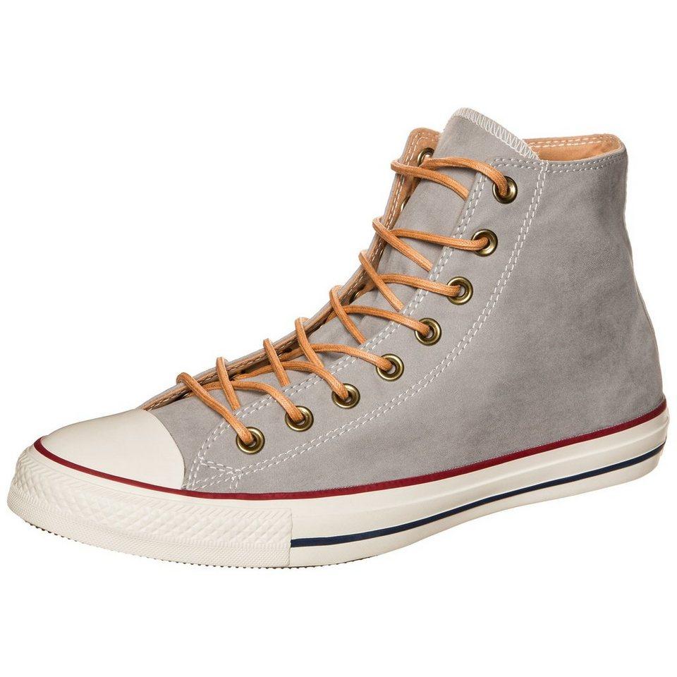 CONVERSE Chuck Taylor All Star High Sneaker in grau / hellbraun