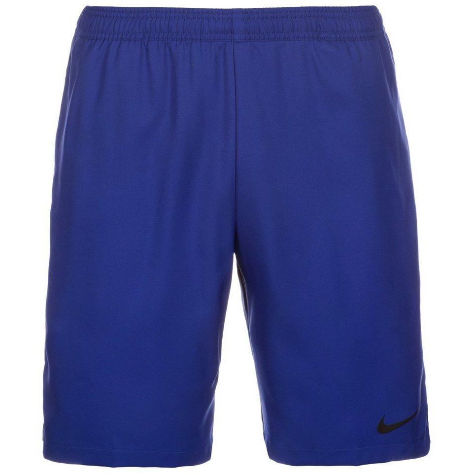 NIKE Court Tennisshort Herren in dunkelblau / schwarz