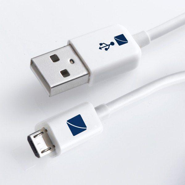 Travel Blue Micro USB 2.0 Daten-/Sync- und Ladekabel (für Samsung/HTC u.a.)