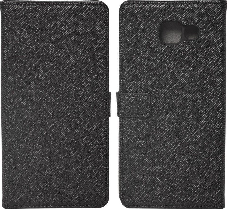 nevox Hochwertiges FlipCover passend für das Galaxy A5 (2016) »ORDO« in schwarz