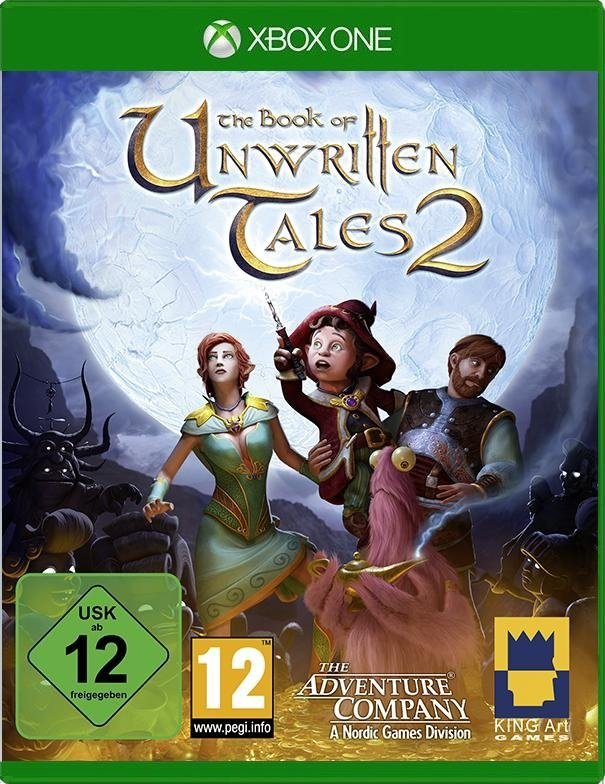 Nordic Games XBOX One - Spiel »The Book of unwritten Tales 2«