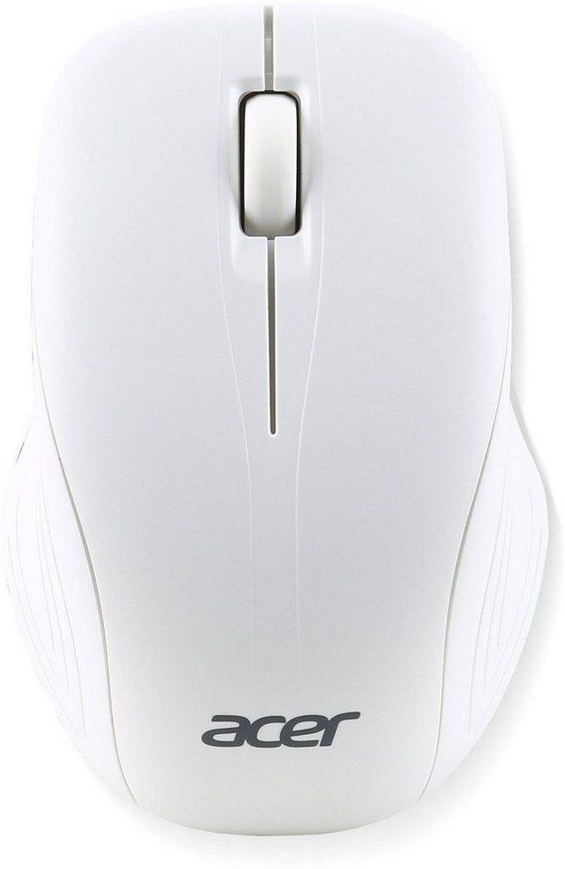 ACER kabellose Maus »RF2.4 weiß (NP.MCE1A.007)« in weiß