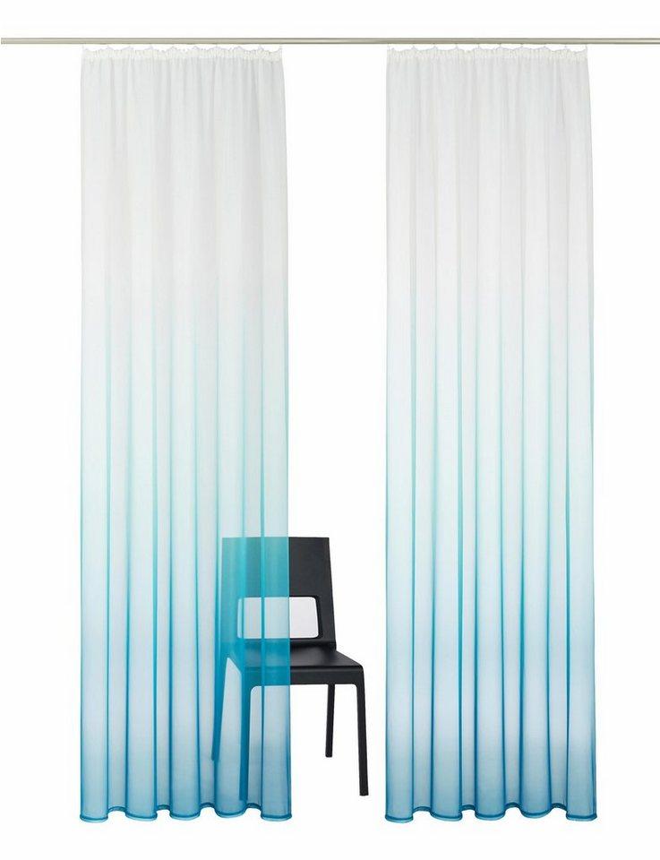 Gardine, My Home, »Callao« (2 Stück) in blau