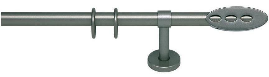 Gardinenstange, indeko, »Kissu«, 1-läufig nach Maß ø 20 mm | Heimtextilien > Gardinen und Vorhänge > Gardinenstangen | Metall | indeko