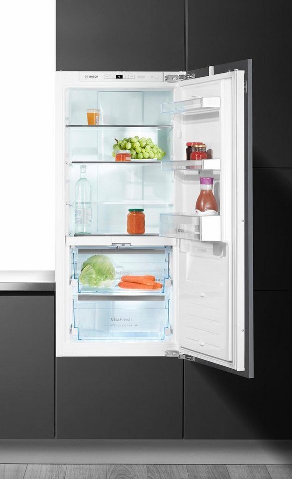 Bosch Integrierbarer Einbau-Kühlautomat KIF41AF30, A++, 122,5 cm hoch in weiß