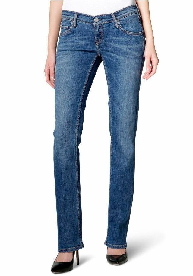 Mustang Bootcut-Jeans »Gina« Bootcut Form in blue-stone