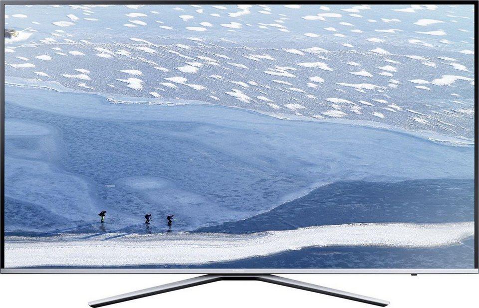Samsung UE40KU6409UXZG, LED Fernseher, 100 cm (40 Zoll), 2160p (4K Ultra HD), Smart-TV in schwarz/silberfarben