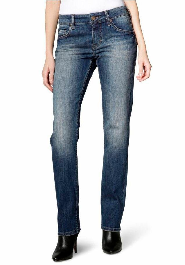 Mustang 5-Pocket-Jeans »Sissy Straight« in bleachstone
