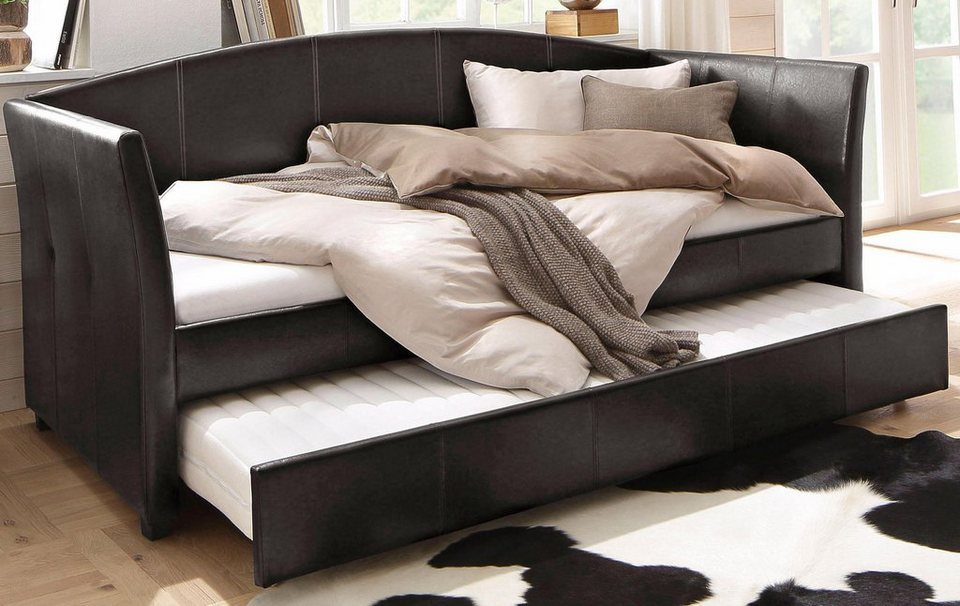 home affair bett boxspring bett home affaire home in n. Black Bedroom Furniture Sets. Home Design Ideas