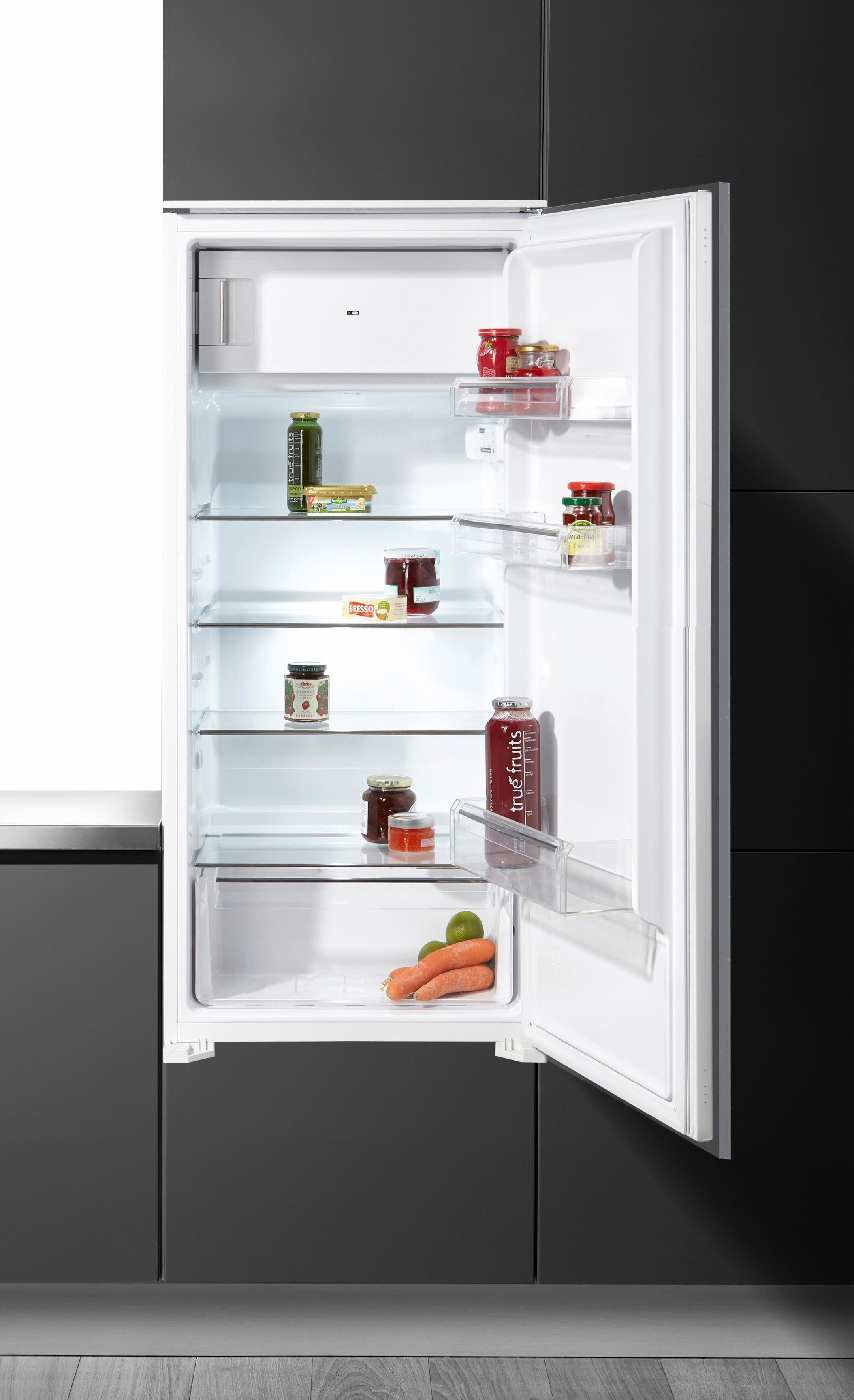 Hanseatic Einbaukühlschrank HEKS12254GA1, Energieklasse A+, 121 cm hoch