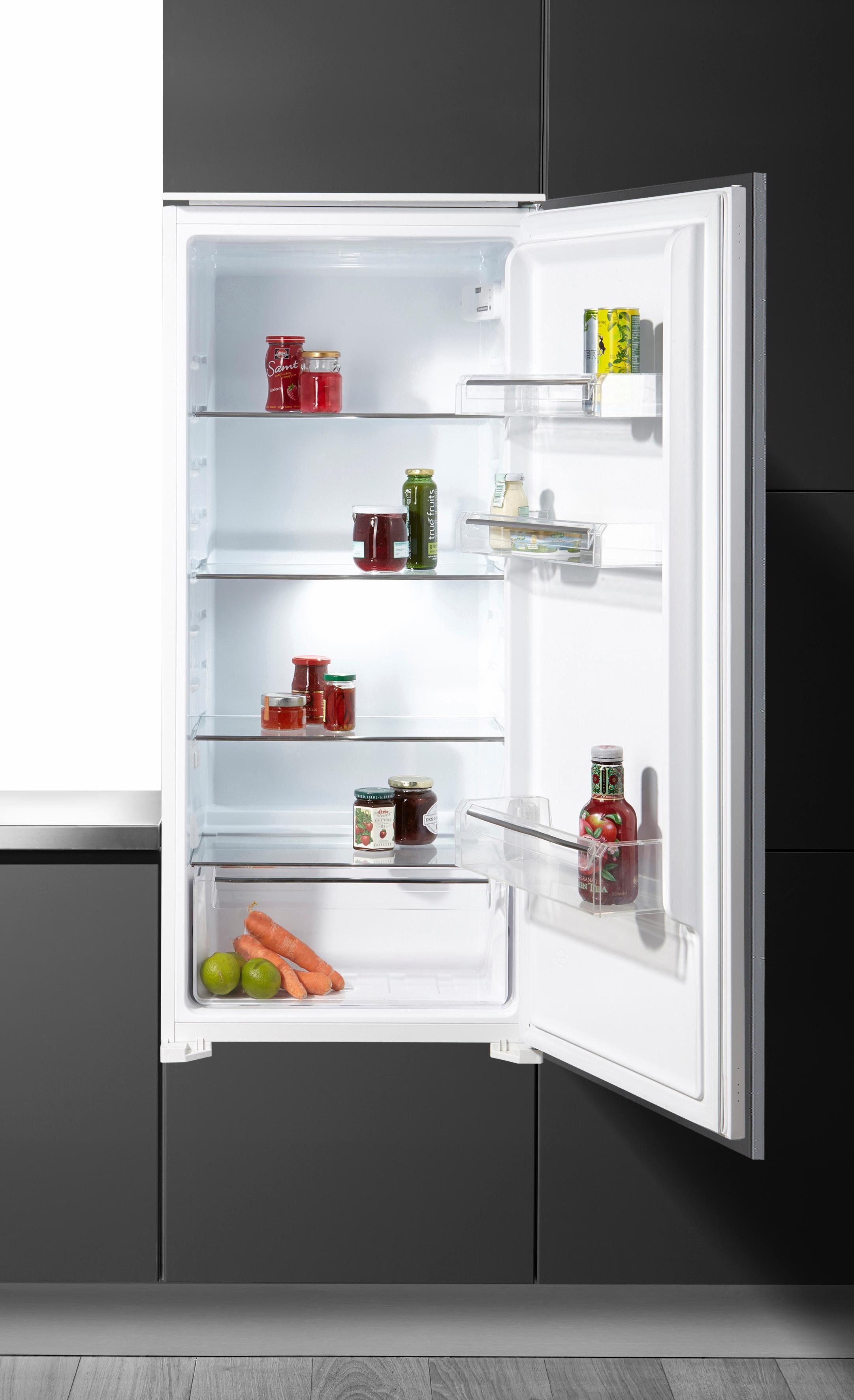 Hanseatic Einbaukühlschrank HEKS12254A1, Energieklasse A+, 121 cm hoch