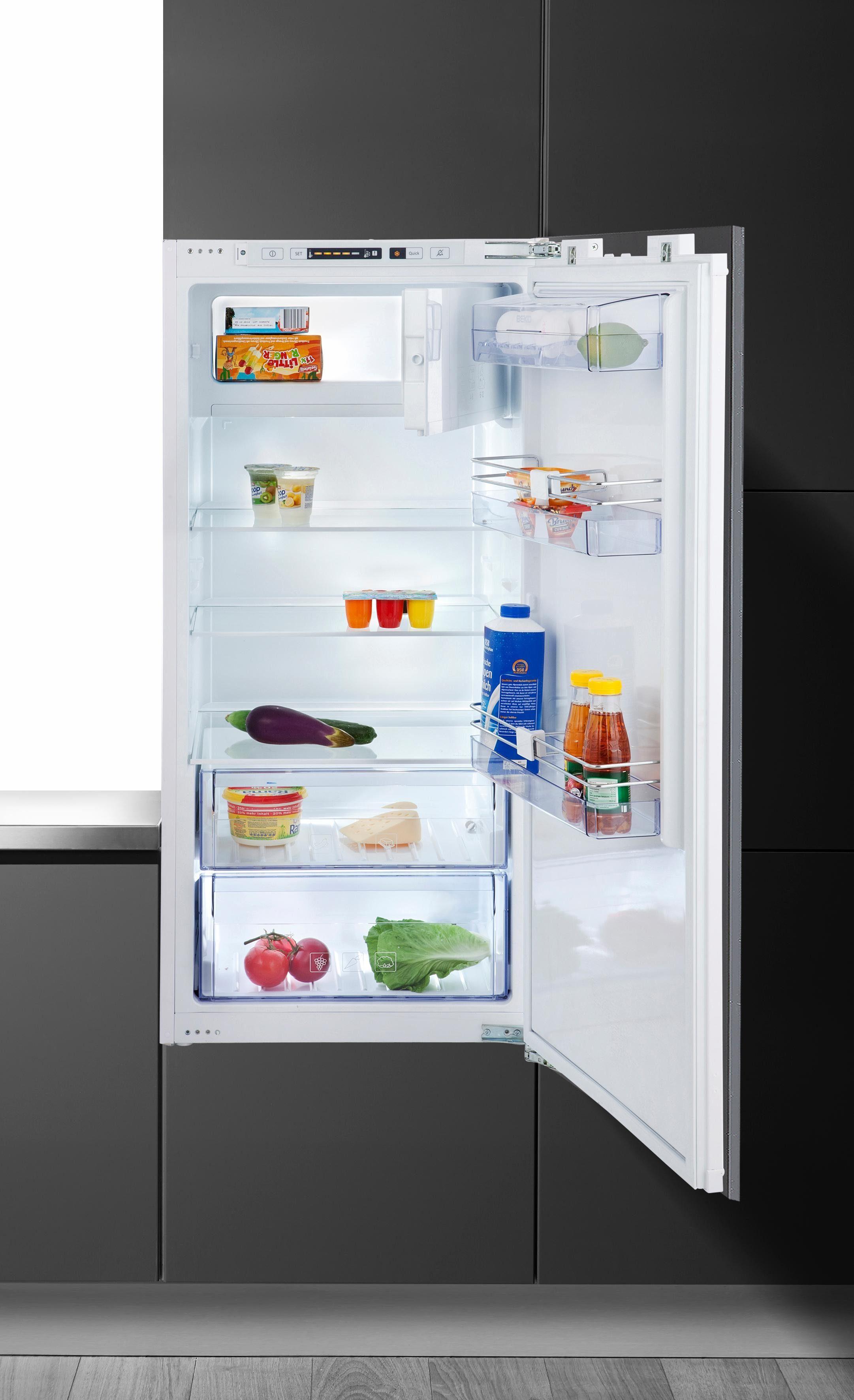 Beko integrierbarer Einbaukühlschrank BSS 121200, A++, 122,5 cm