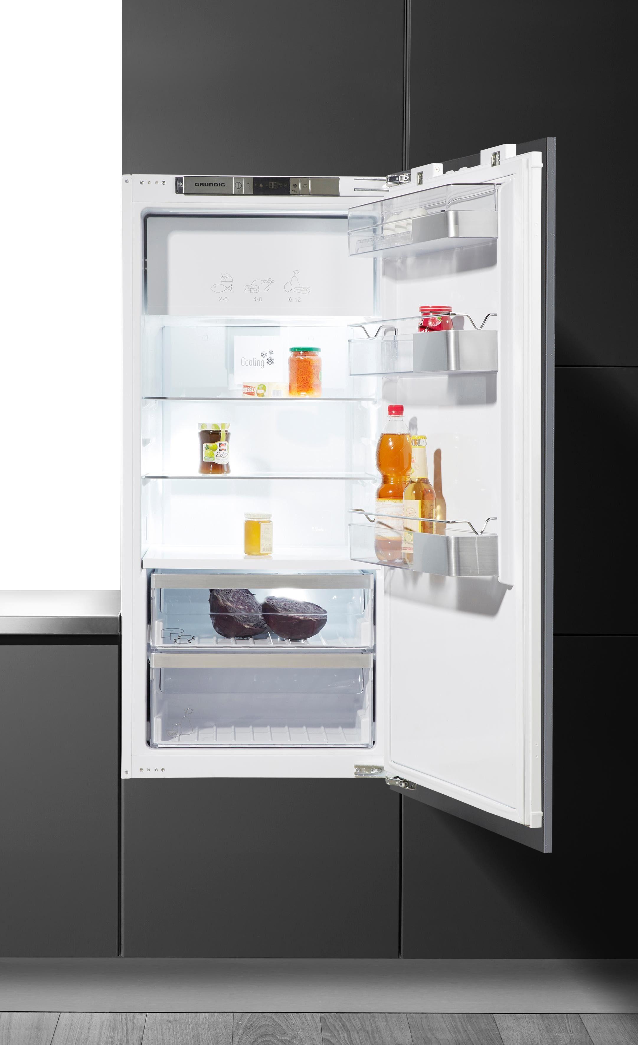 Grundig integrierbarer Einbau-Kühlschrank GTNI 14331, A+++