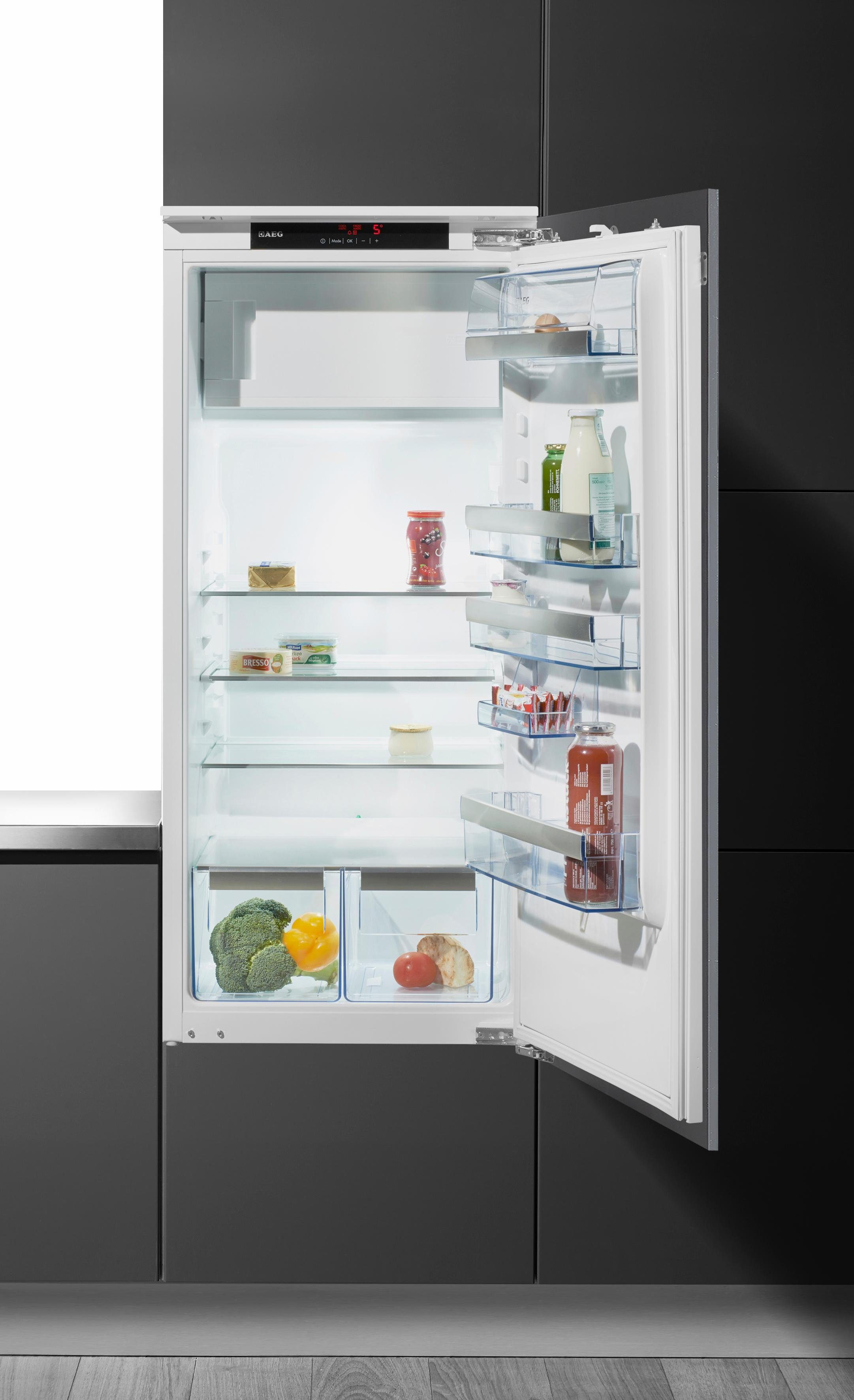 AEG integrierbarer Einbaukühlschrank SANTO SKS91240F1, A+++, 121,9 cm