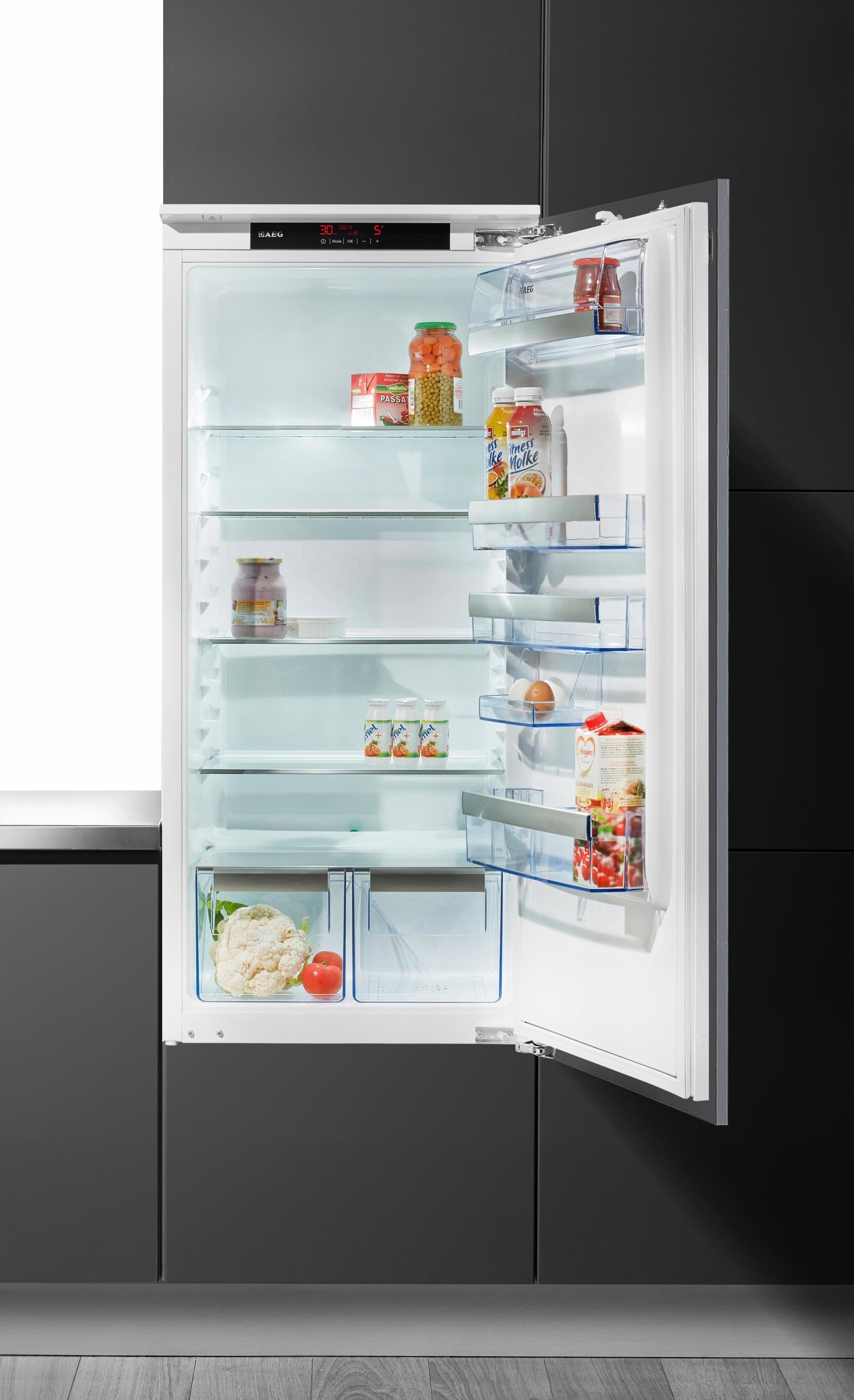 AEG integrierbarer Einbaukühlschrank SANTO SKS91200F1, A+++, 121,9 cm