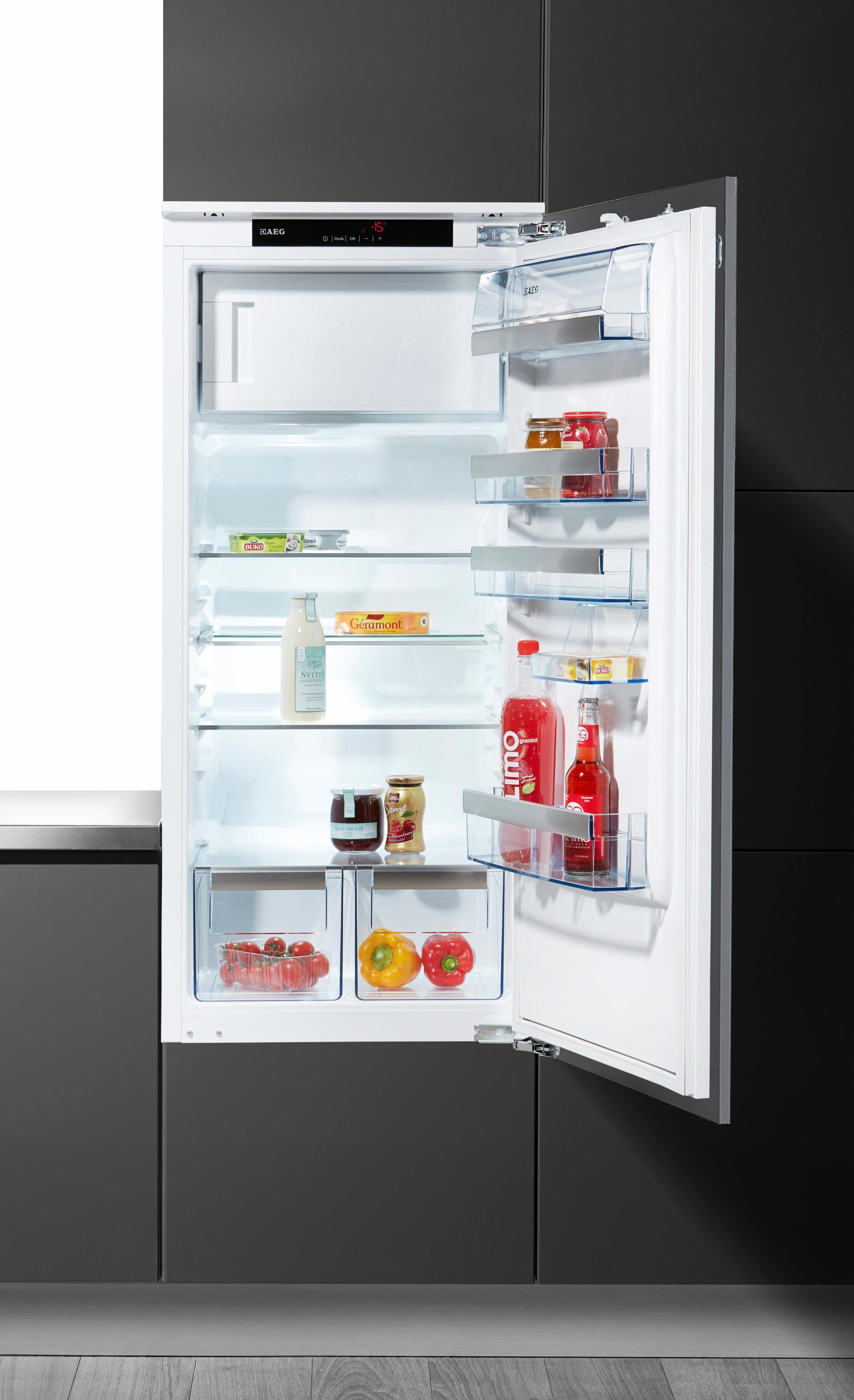 AEG Kühlschrank integrierbar SANTO / SKS91240C1, Energieklasse A+++