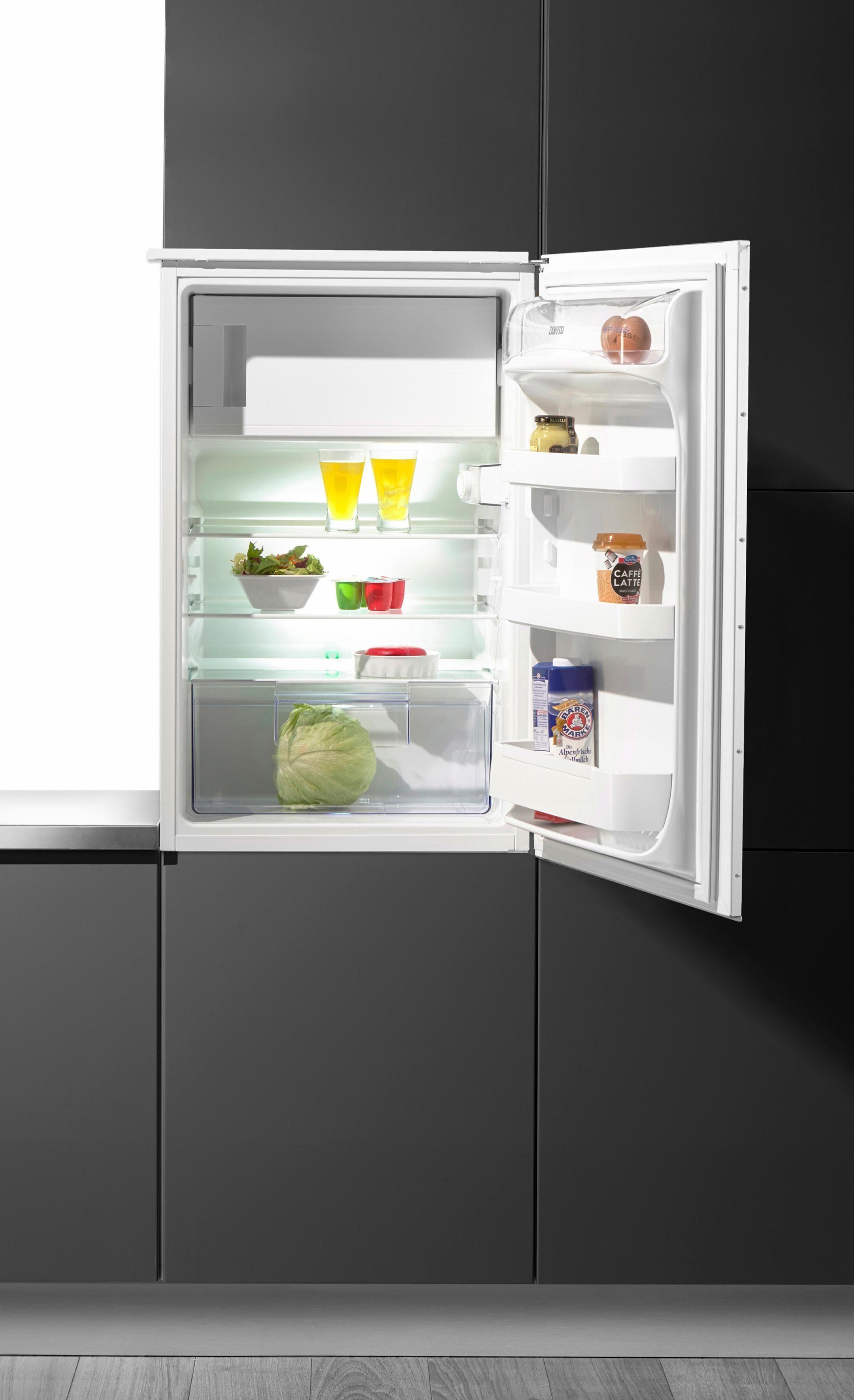 Zanussi dekorfähiger Einbaukühlschrank ZBA14440WA, A++, 87,3 cm hoch