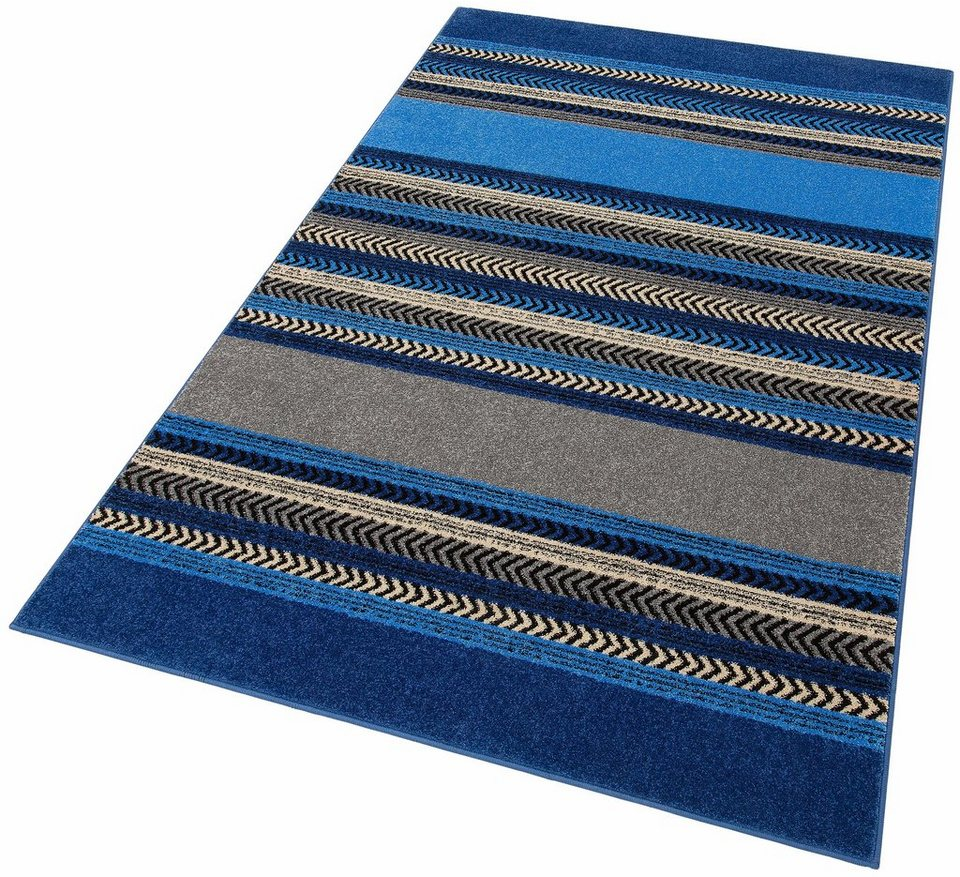 Teppich, Home affaire Collection, »Keanu«, gewebt in blau