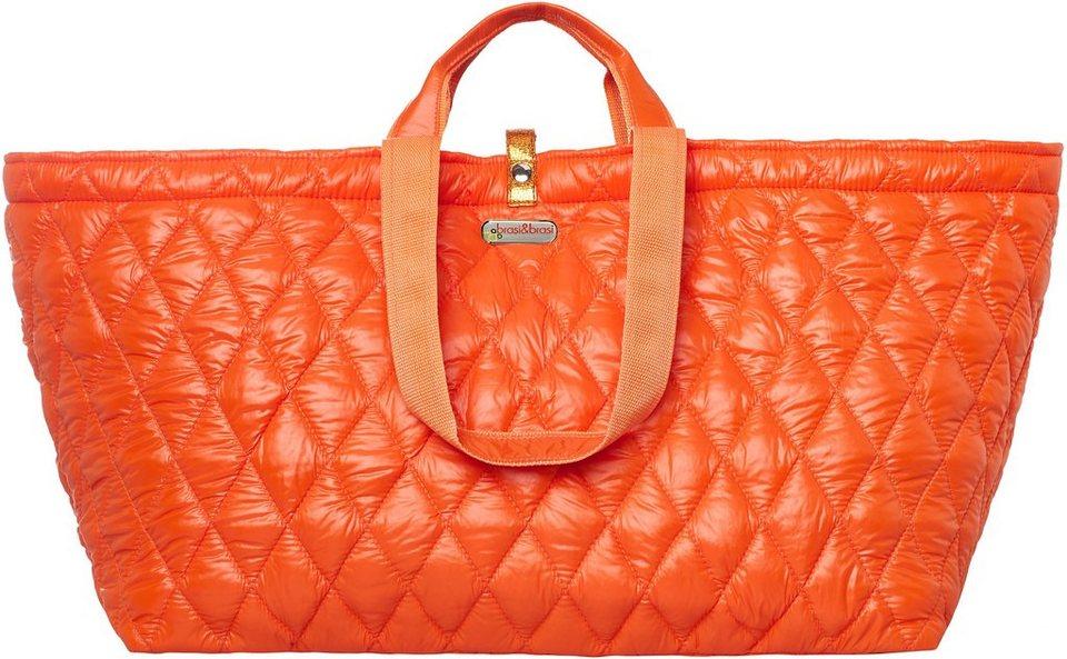 brasi&brasi Weekender, »bigger&quilt« in orange