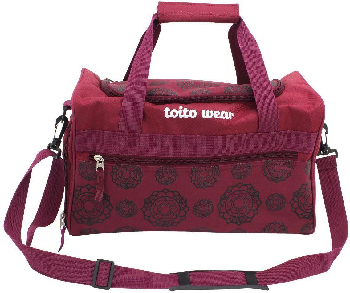 toito wear® Sporttasche, »Mandala Horse«