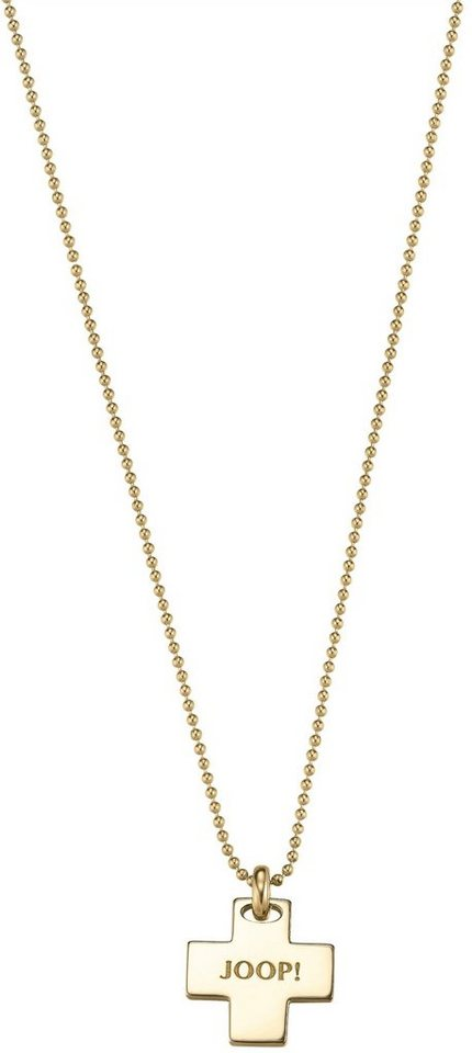 Kette mit Anhänger, »JP-M AFFECT, JPNL90712B420« in Silber 925-goldfarben vergoldet