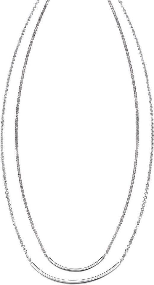 Kette mit Zirkonia, »JP-T REFINED, JPNL90768A420« in Silber 925