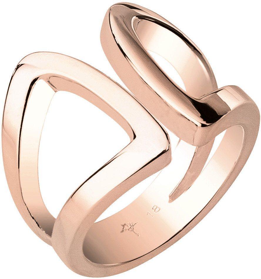JOOP! Ring, »JP-M SHAPED, JPRG00010C« in roségoldfarben