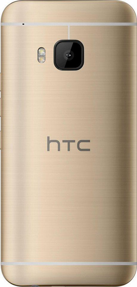 HTC One S9 Smartphone, 12,7 cm (5 Zoll) Display, LTE (4G), 13,0 Megapixel, NFC in goldfarben