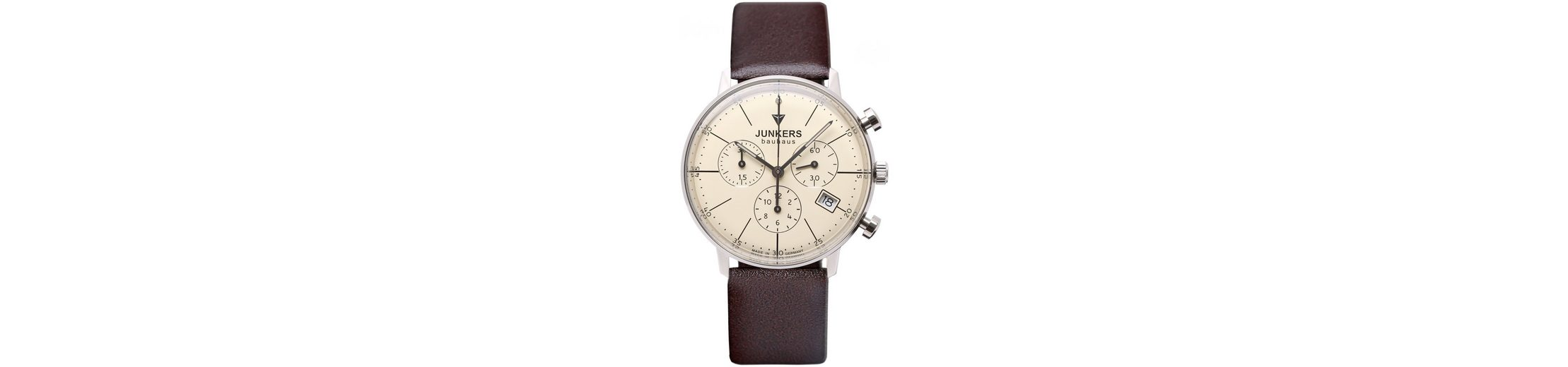 Junkers-Uhren Chronograph »BAUHAUS, 6089-5« Made in Germany