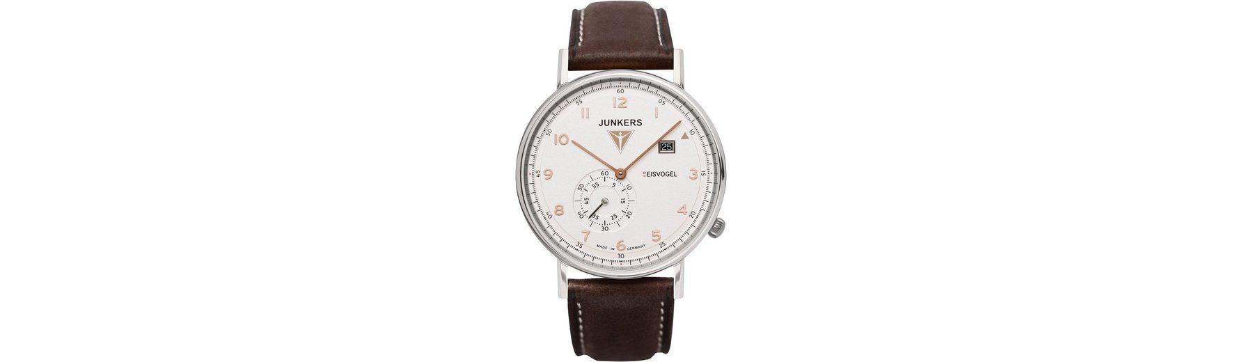 Junkers-Uhren Quarzuhr »EISVOGEL F13, 6730-4« Made in Germany