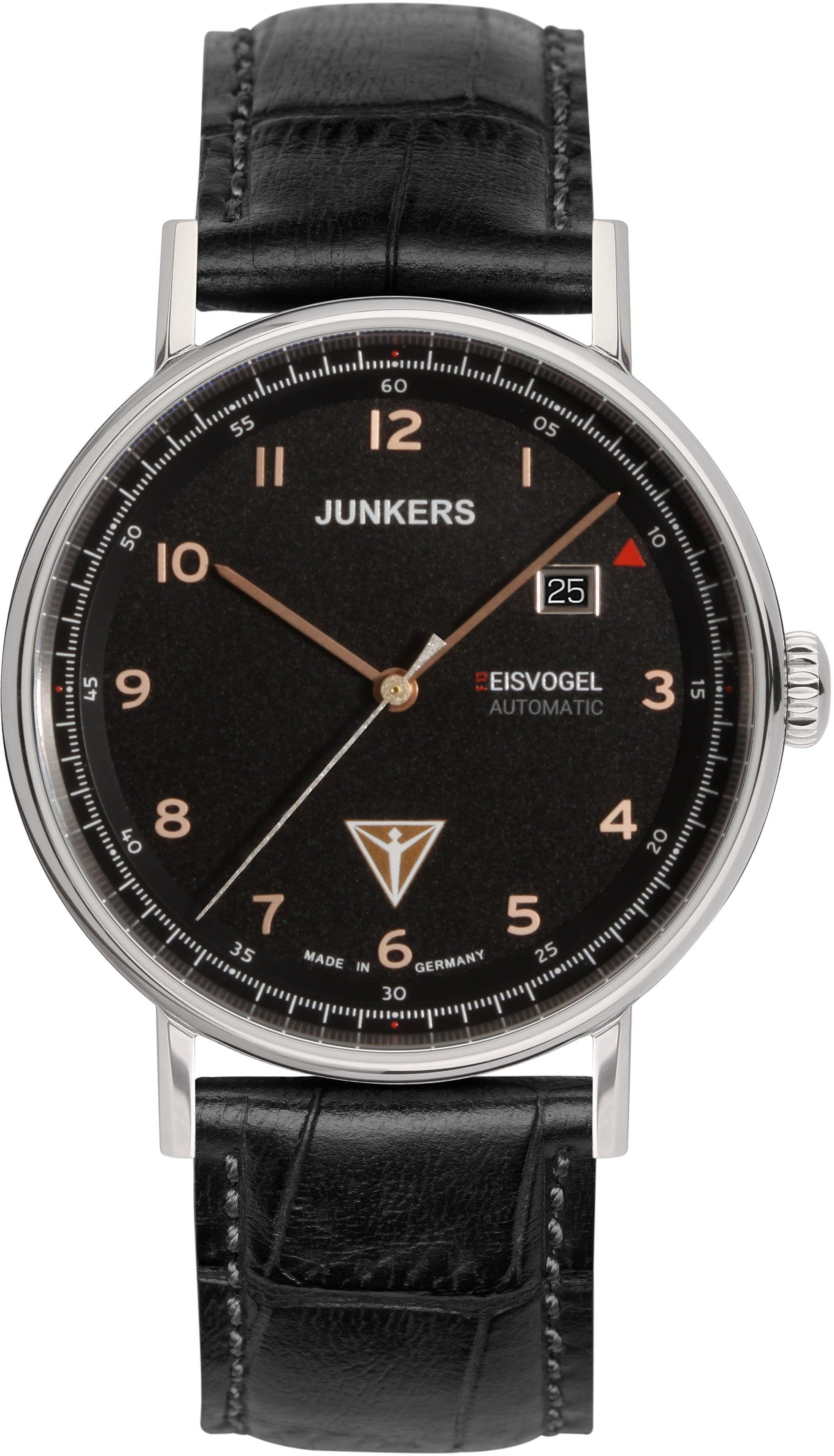 Junkers-Uhren Automatikuhr »EISVOGEL F13, 6754-5« Made in Germany