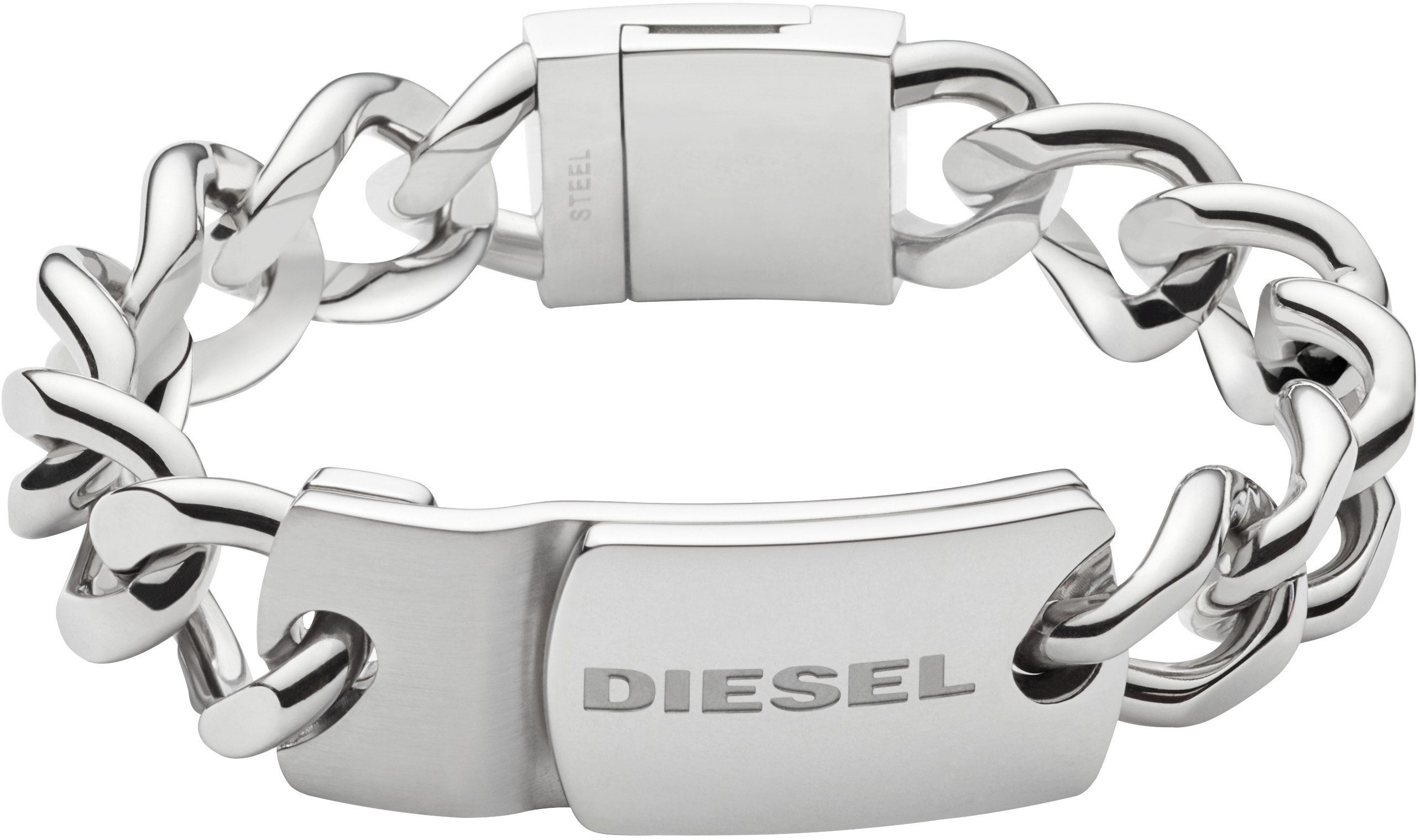 Diesel Armband , »Stacked, DX0967040«