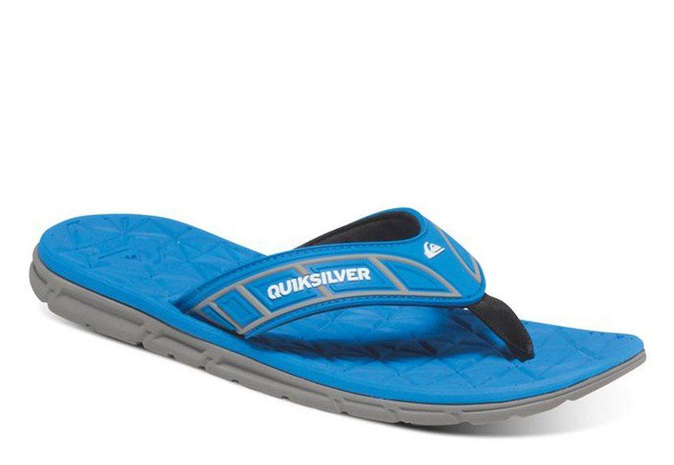 Quiksilver Sandalen »Fluid« in black/blue/grey
