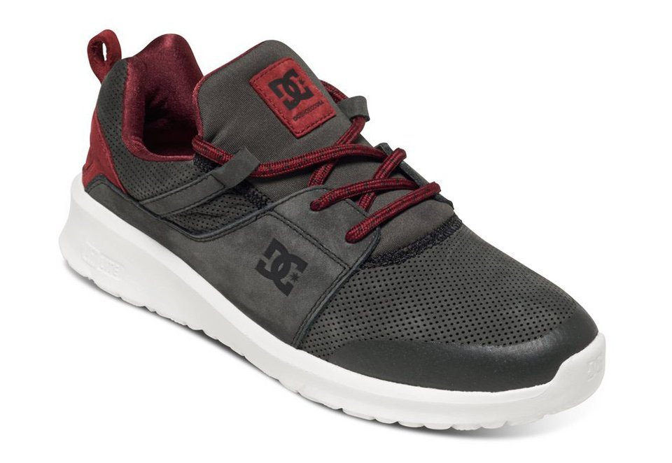 DC Shoes Schuhe »Heathrow Prestige« in Grey/red