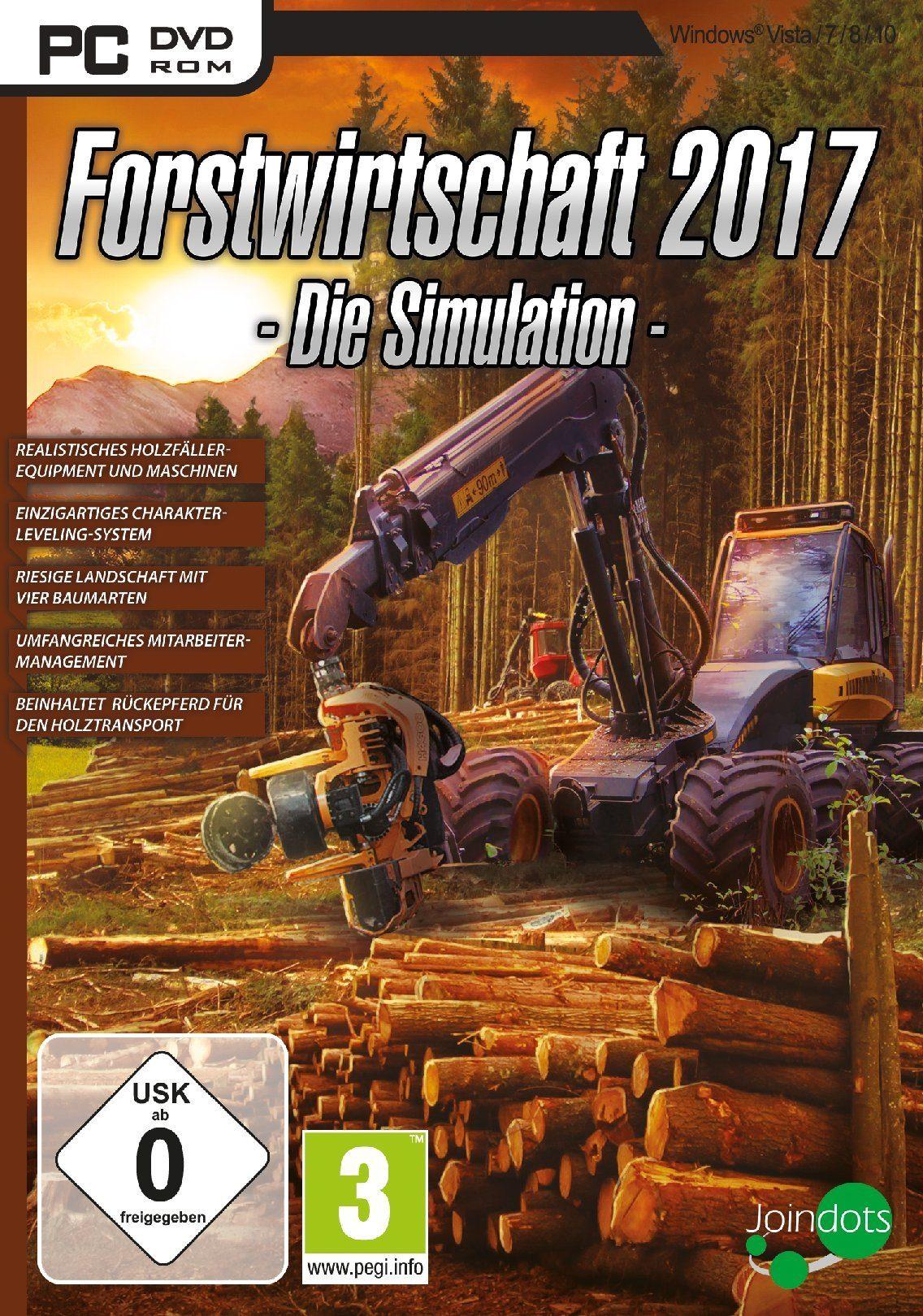 UIG Forstwirtschaft 2017 - Die Simulation »PC«