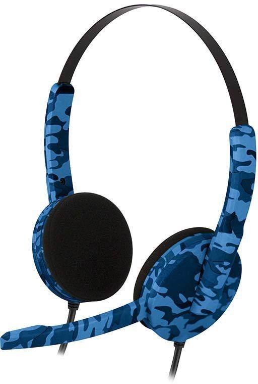 BIGBEN Headset Stereo Gaming Headset (Camouflage) blau »(PS4)«