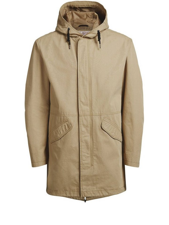 Jack & Jones Fishtail- Parka in Kelp