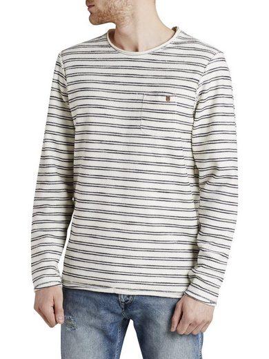 Jack & Jones Gestreiftes Sweatshirt