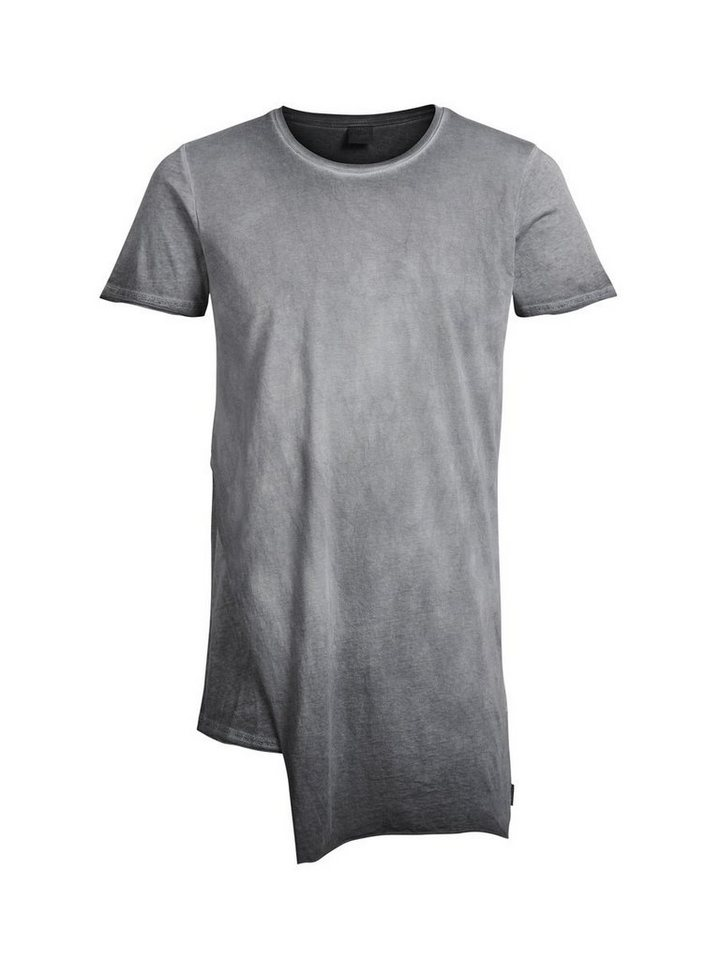 Jack & Jones Longline T-Shirt in Raven