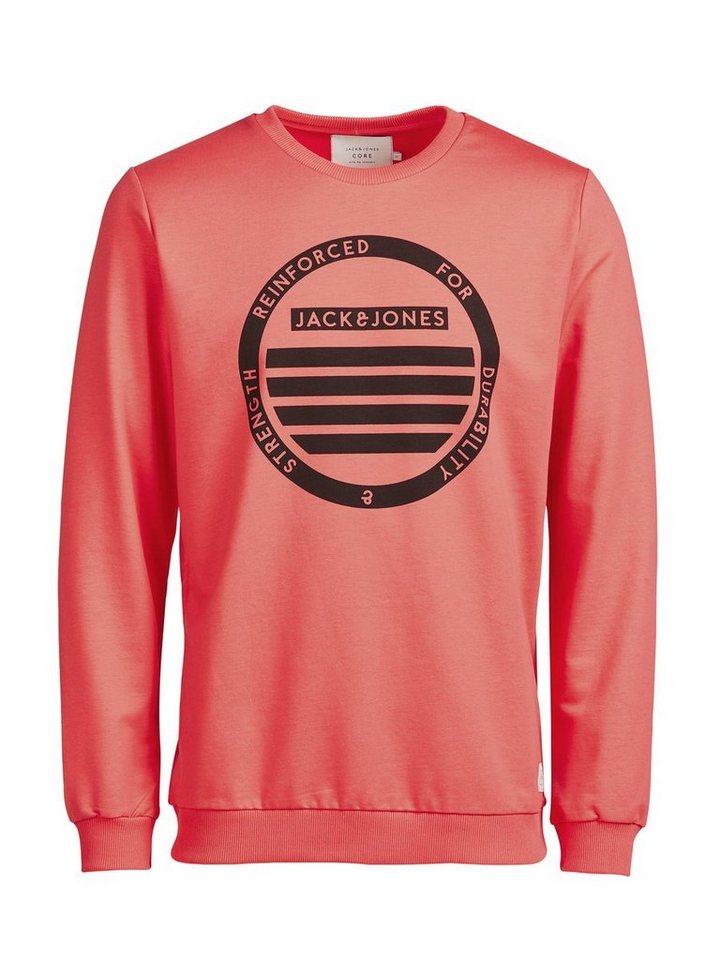Jack & Jones Grafik- Sweatshirt in Cayenne