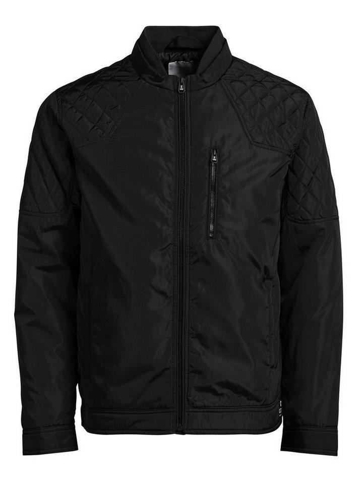 Jack & Jones Leichte Biker- Jacke in Black