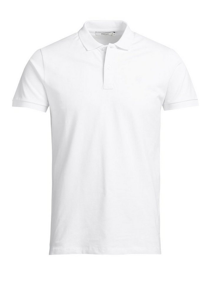 Jack & Jones Klassisches Poloshirt in White 2
