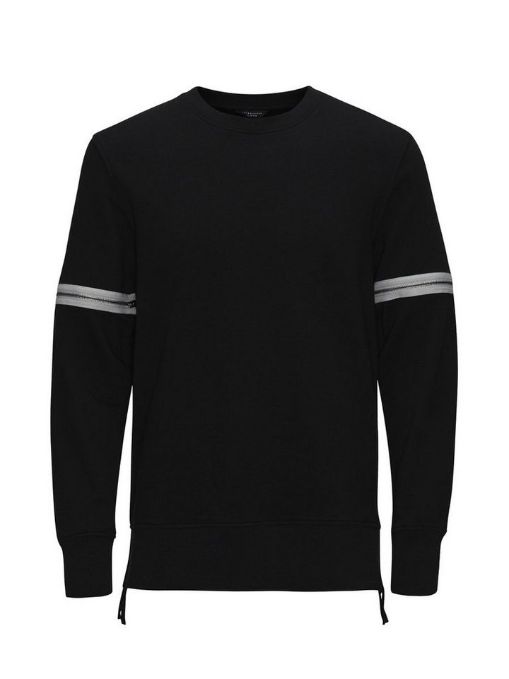 Jack & Jones Reißverschluss- Sweatshirt in Black