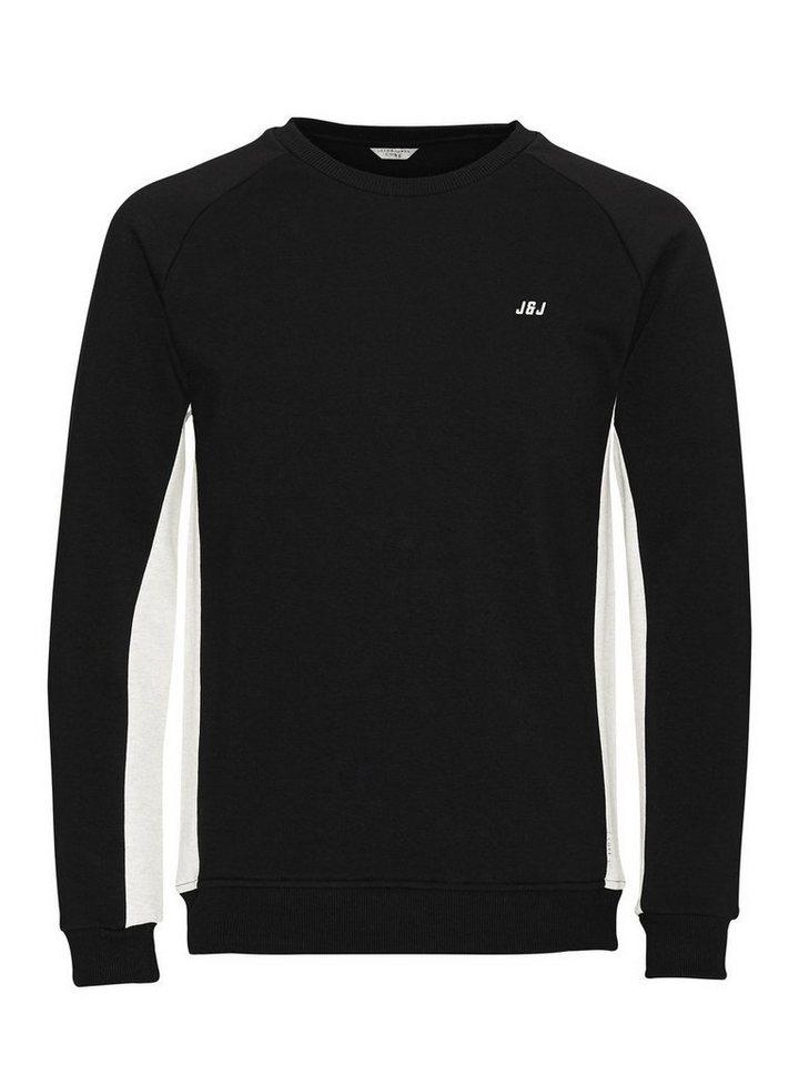 Jack & Jones Kontrastreiches Sweatshirt in Black