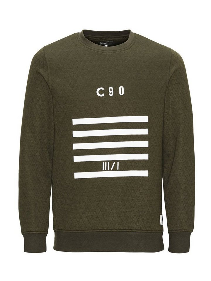Jack & Jones Monochromes Sweatshirt in Forest Night